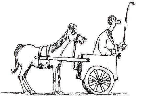 Cart Leading Horse