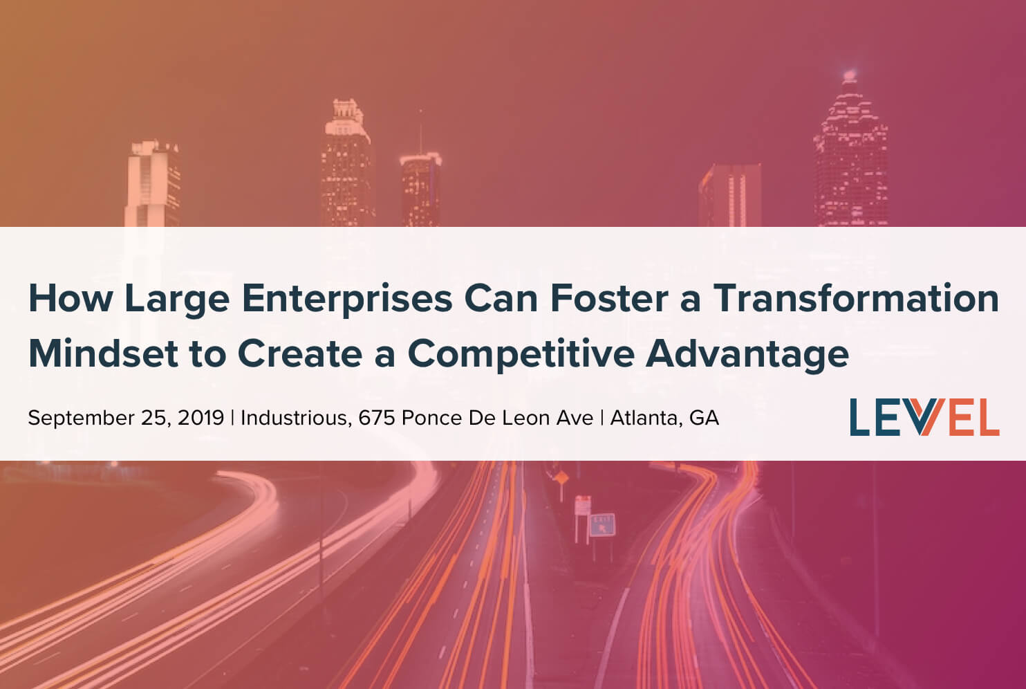 How Large Enterprises Can Foster a Transformation Mindset to Create a Competitive Advantage