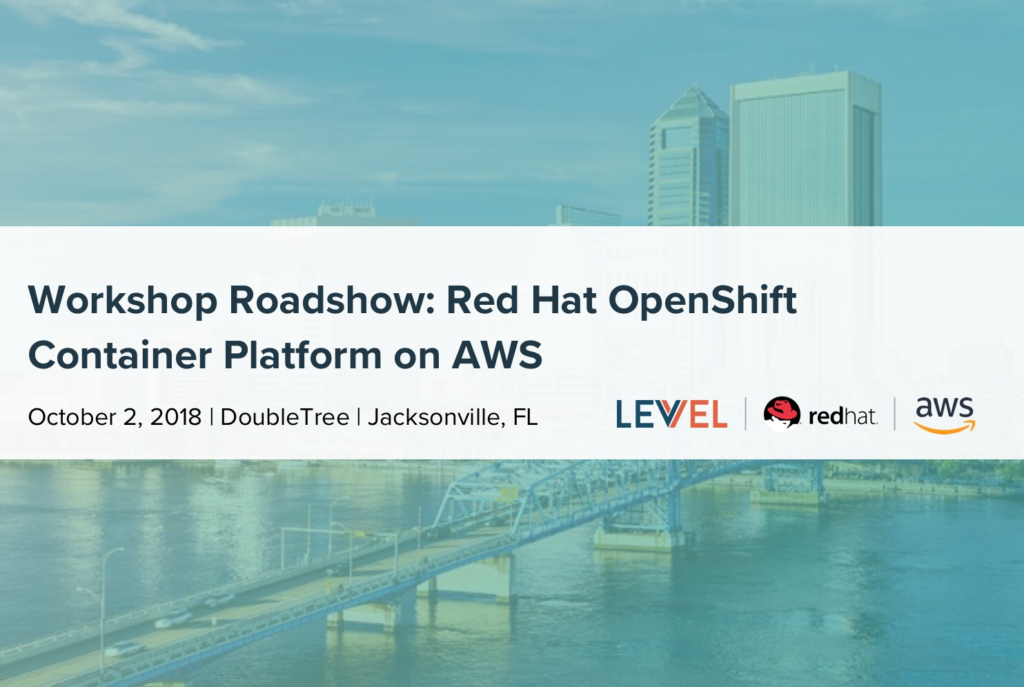 Workshop Roadshow: Red Hat OpenShift Container Platform on AWS