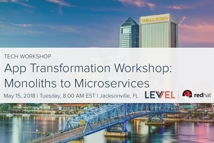 App Transformation Workshop: Monoliths to Microservices