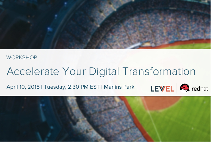 Workshop: Accelerating Your Digital Transformation