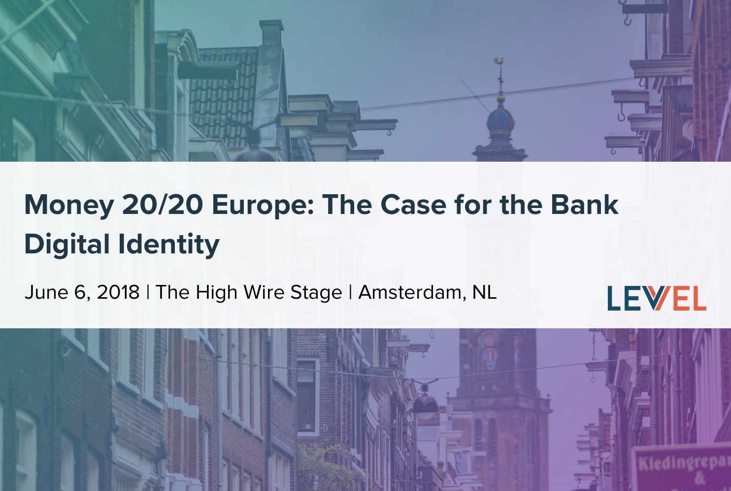 Money 20/20 EU: The Case for the Bank Digital Identity