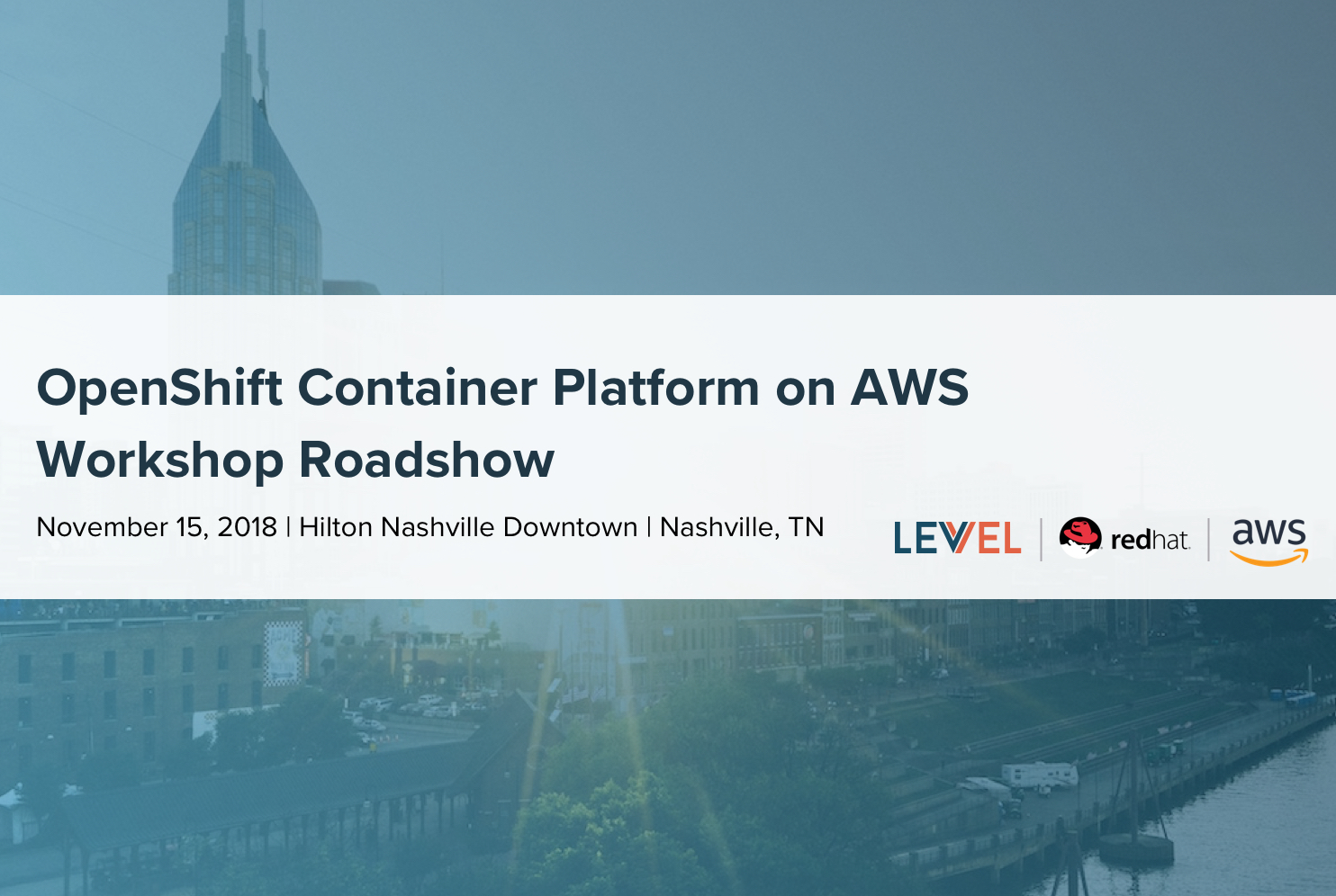 Red Hat OpenShift Container Platform on AWS Workshop Roadshow