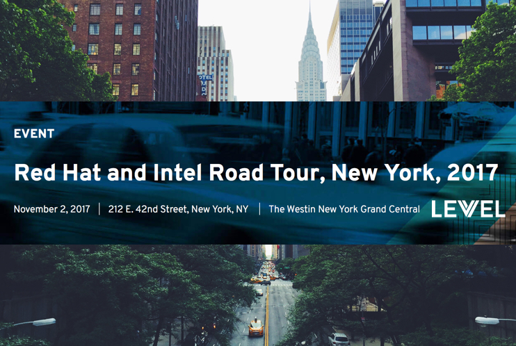 Red Hat and Intel Road Tour