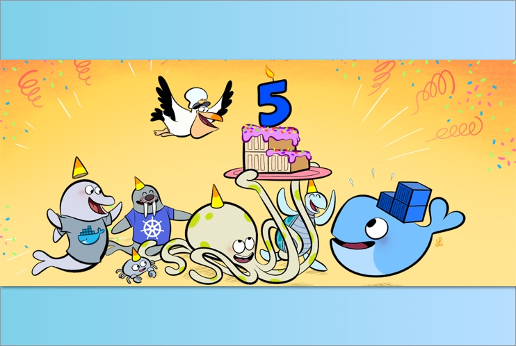 Docker 5th Birthday Celebration