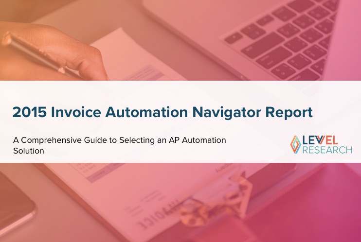 2015 Invoice Automation Navigator Report