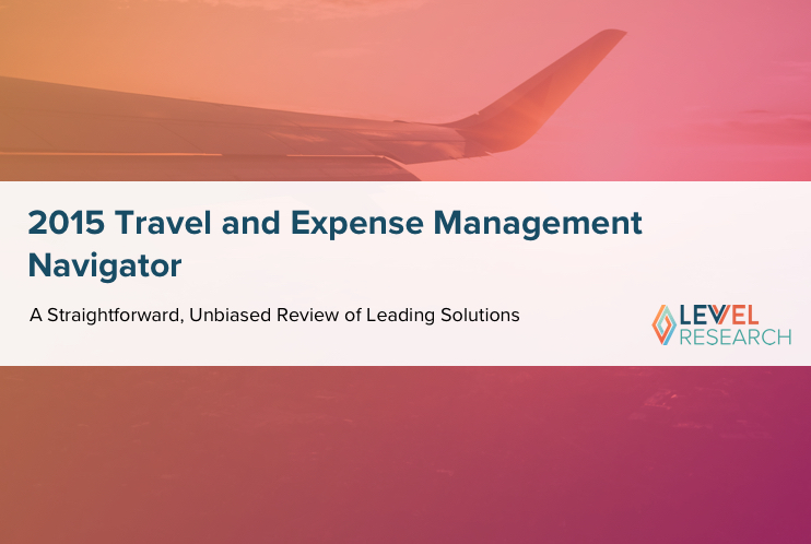 2015 Travel and Expense Management Navigator
