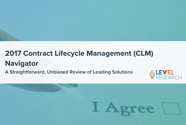 2017 Contract Lifecycle Management Report
