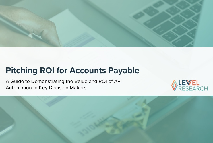 Pitching ROI for Accounts Payable Automation