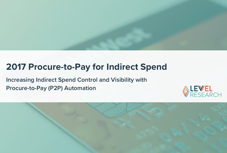 2017 Procure-to-Pay for Indirect Spend