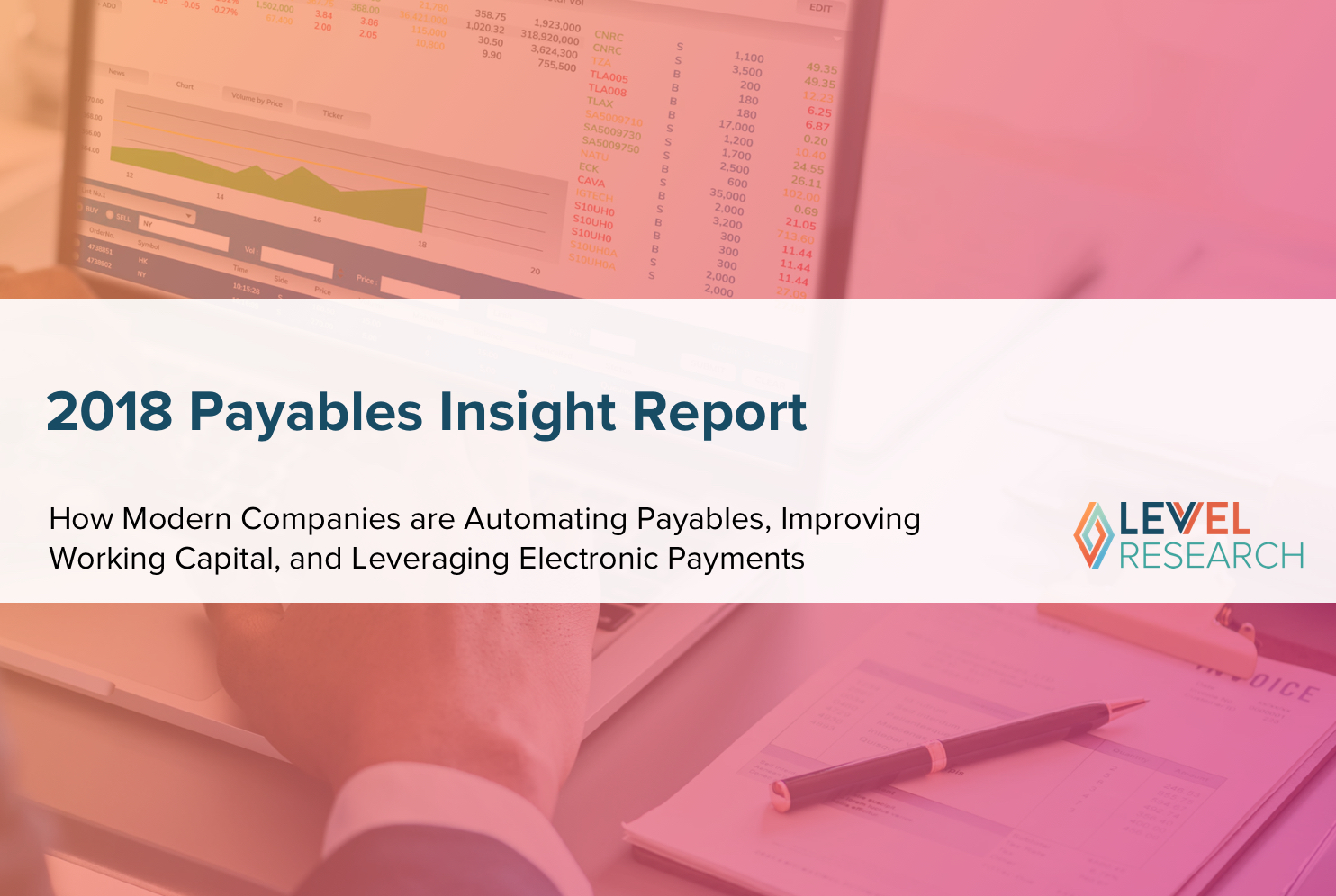 2018 Payables Insight Report