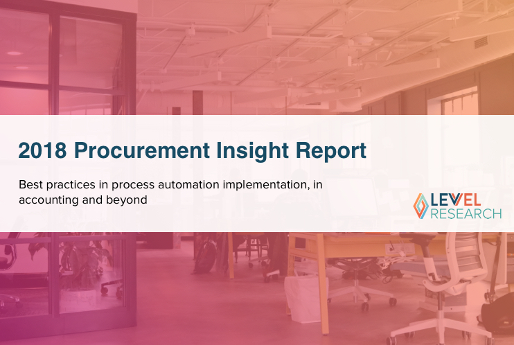 2018 Procurement Insight Report