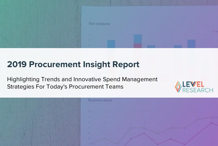 2019 Procurement Insight Report