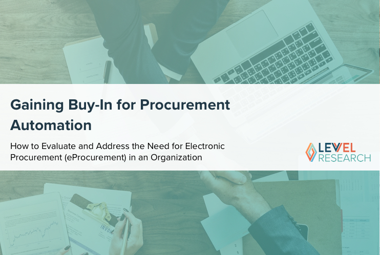 Gaining Buy-In for Procurement Automation