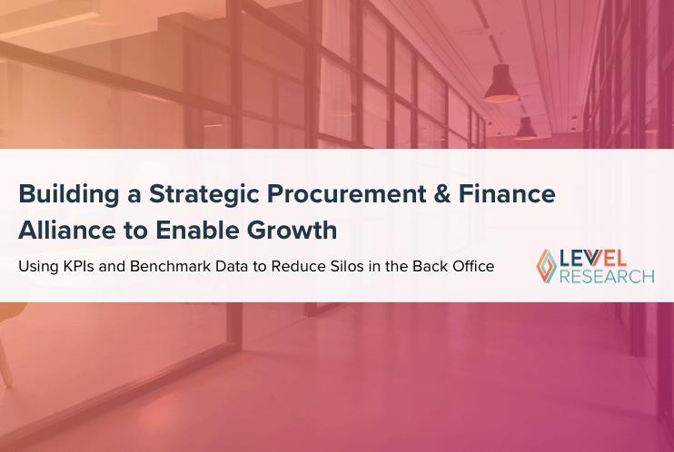 Building a Strategic Procurement & Finance Alliance to Enable Growth