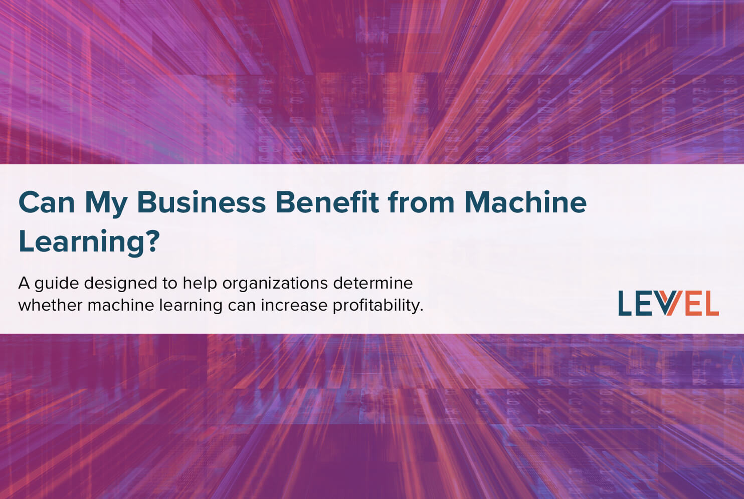 Can My Business Benefit from Machine Learning?