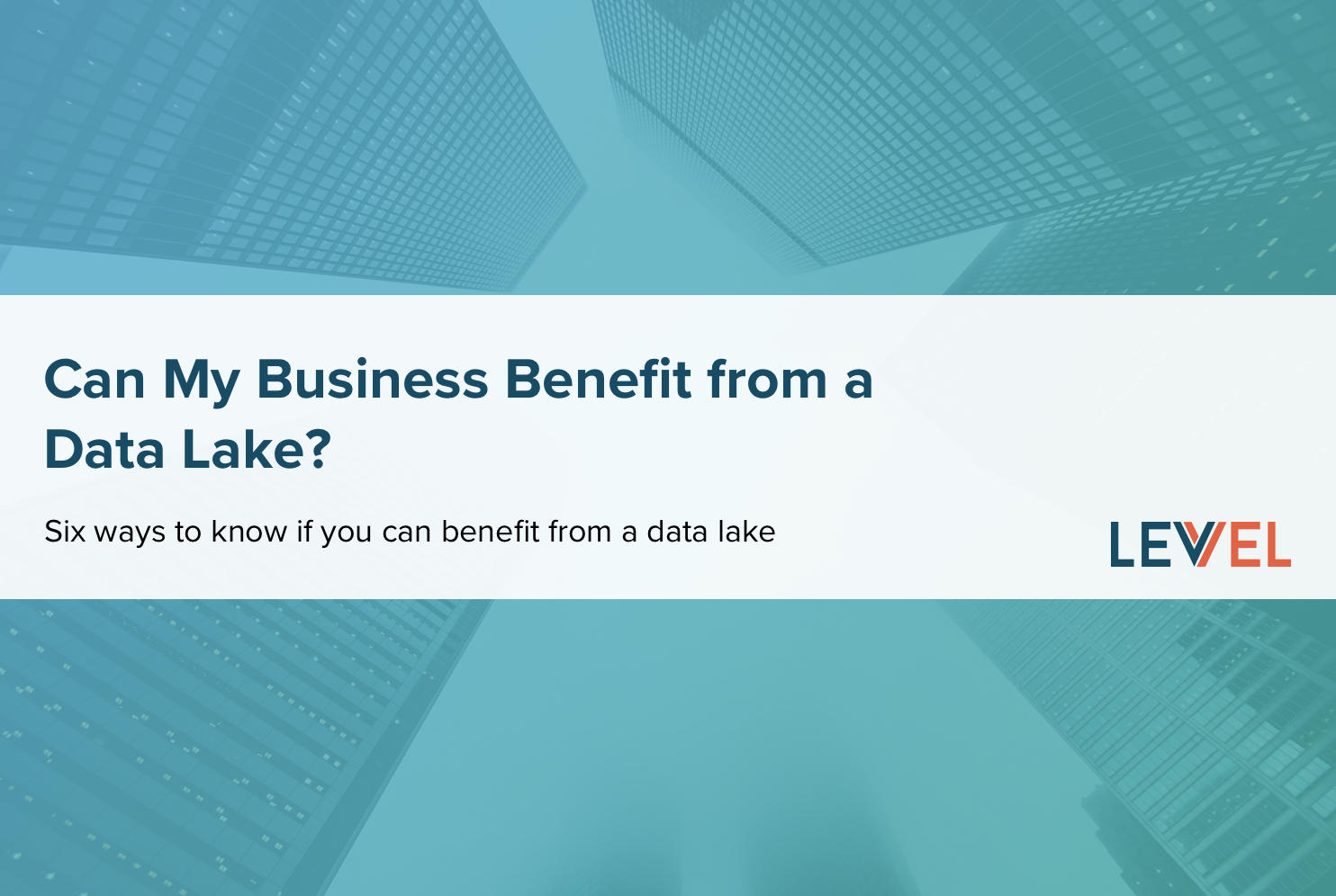 Can My Business Benefit from a Data Lake?