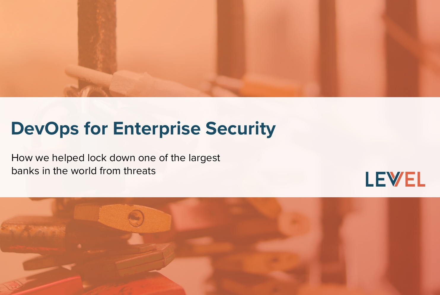DevOps for Enterprise Security