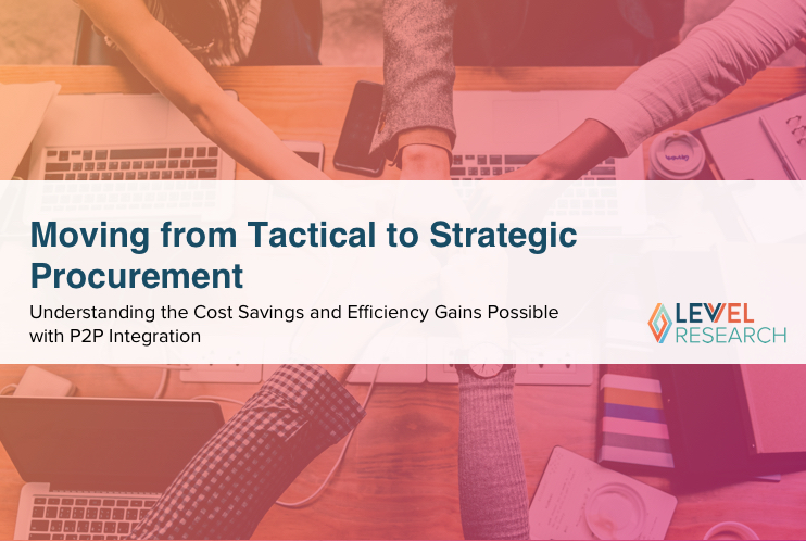 Moving from Tactical to Strategic Procurement