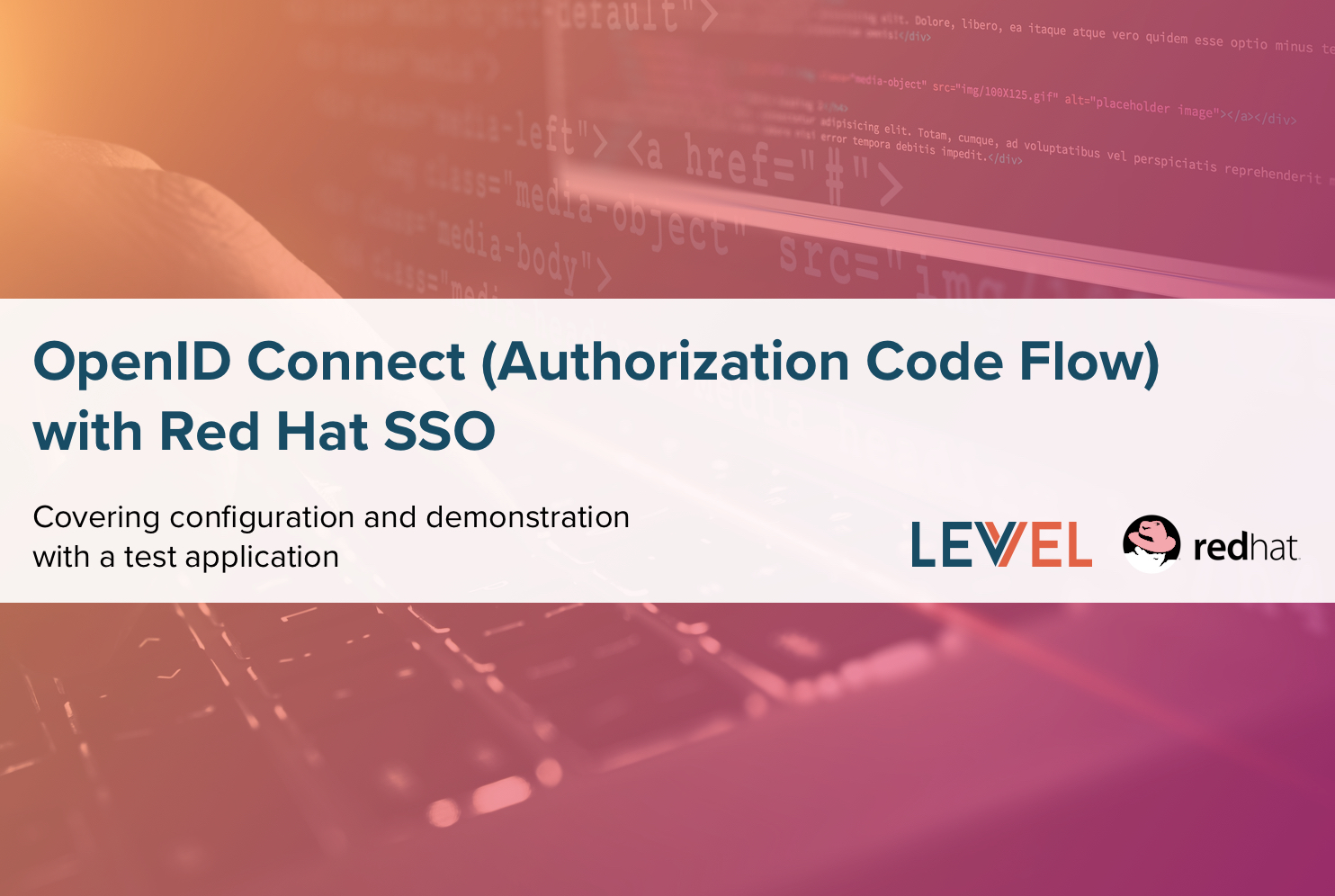 OpenID Connect (Authorization Code Flow) with Red Hat SSO