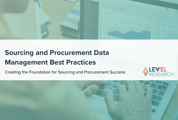 Sourcing and Procurement Data Management Best Practices