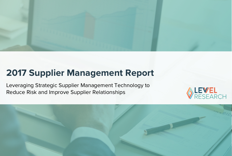 2017 Supplier Management Report