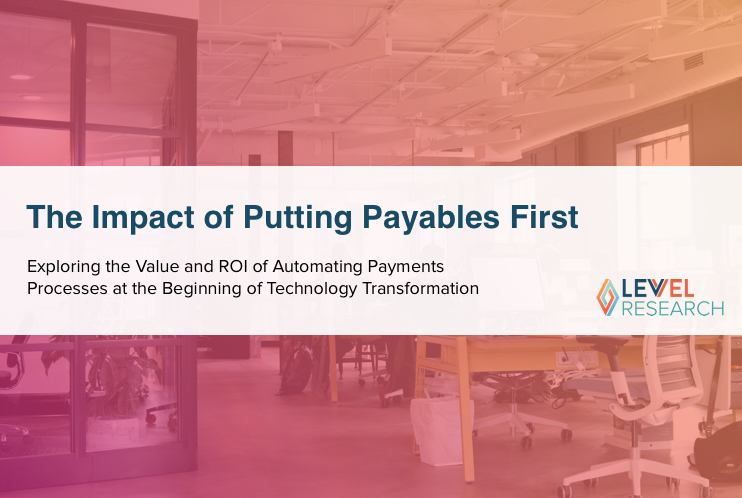 The Impact of Putting Payables First