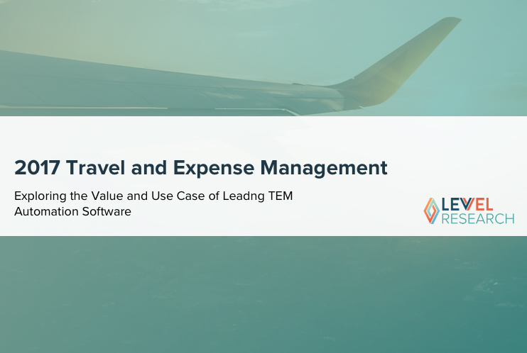 2017 Travel and Expense Management Report