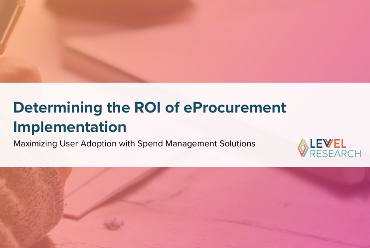Determining the ROI of eProcurement Implementation