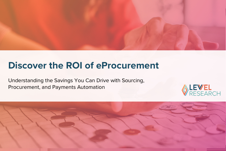 Discover the ROI of eProcurement