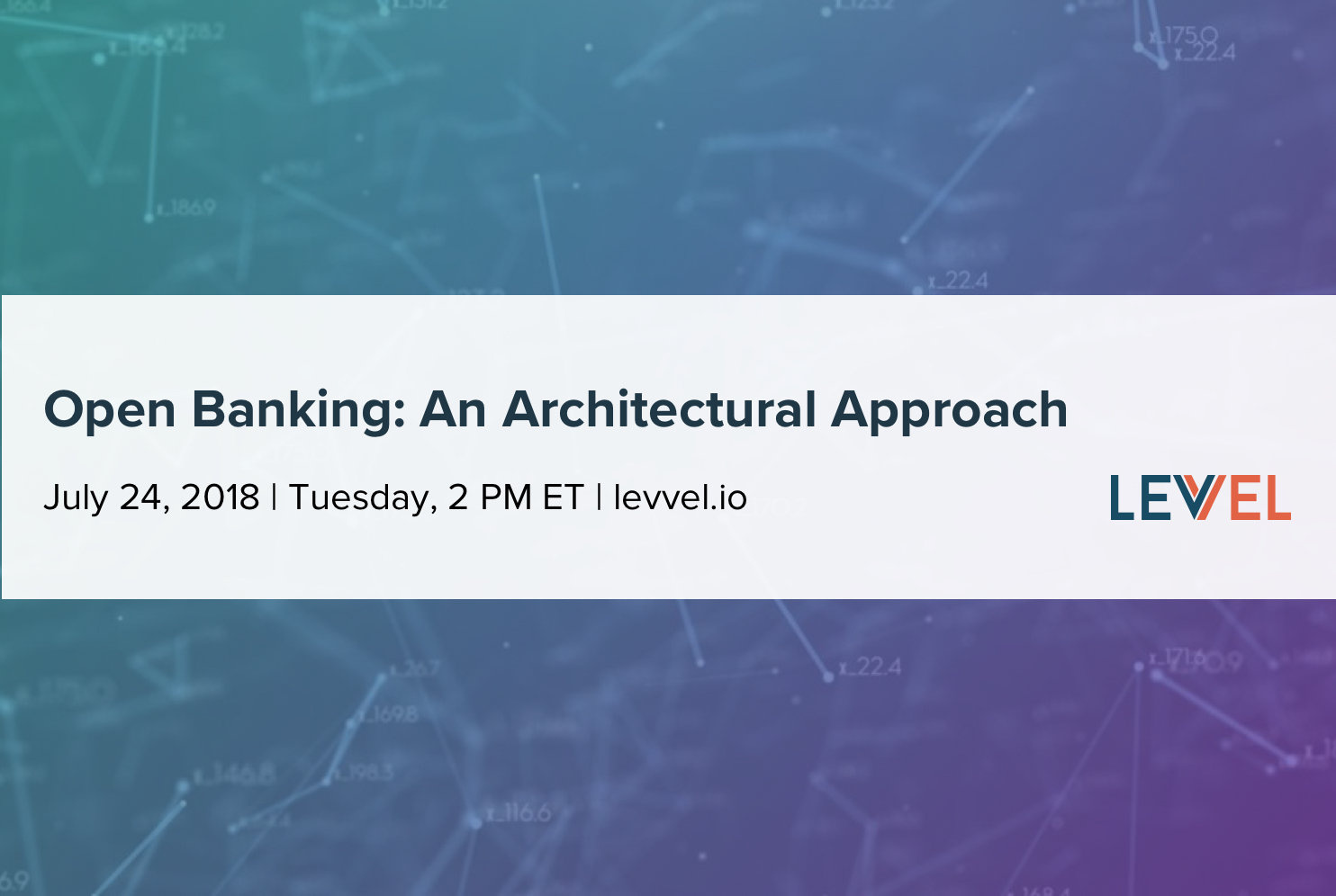 Open Banking: An Architectural Approach